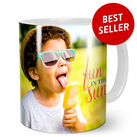 White Coffee Mug 11oz