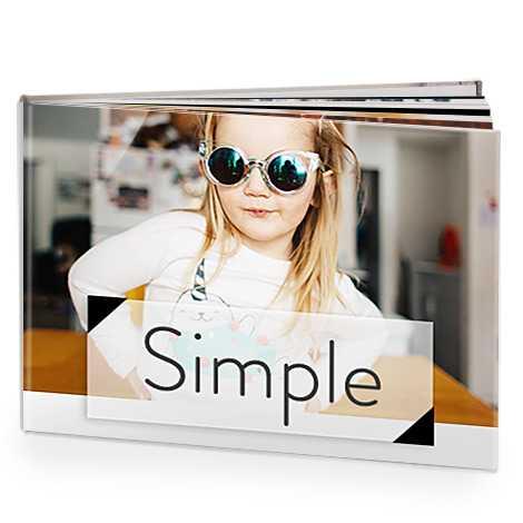 Simple and elegant photo albums