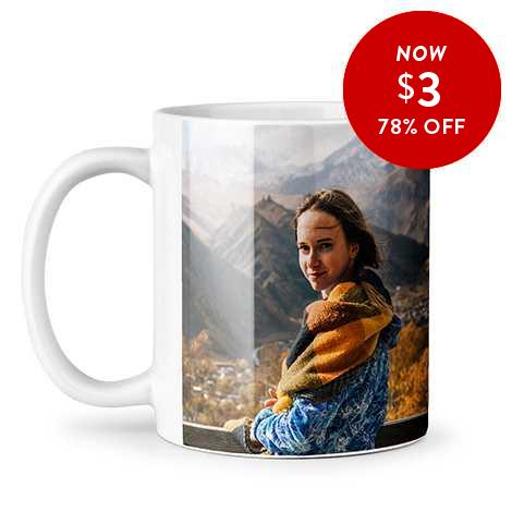 78% off 11oz. Photo Coffee Mugs