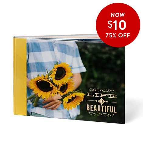 75% off 8x11 Hardcover Books