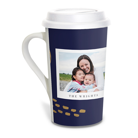 Grande Coffee Mug with Lid, 16oz.
