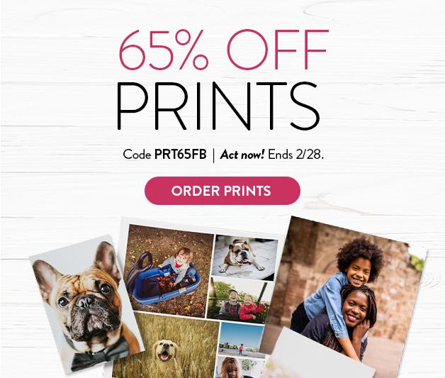 65% off Prints