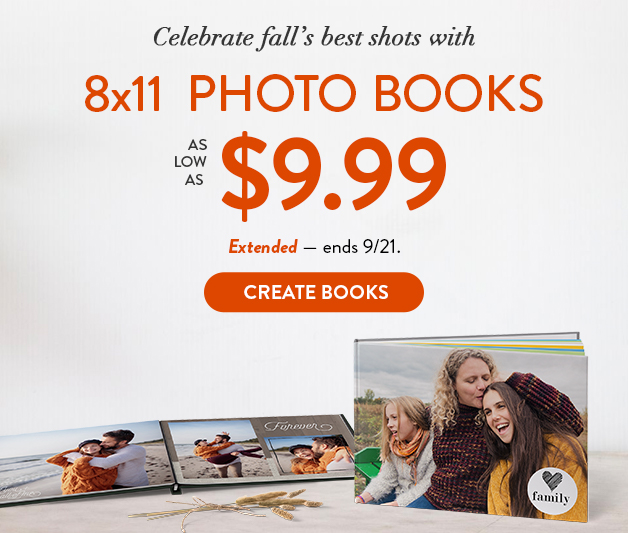 Photo Books as low as $9.99