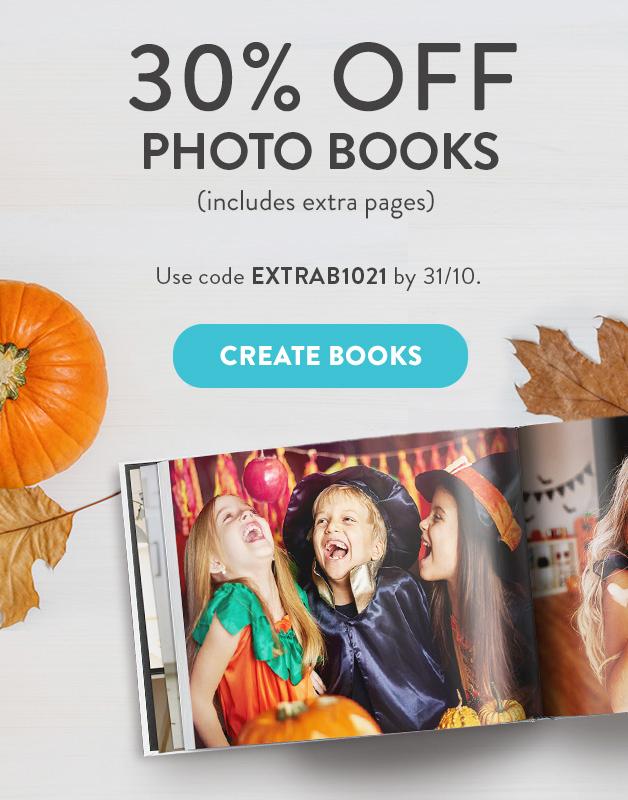 30% off Photo Books!