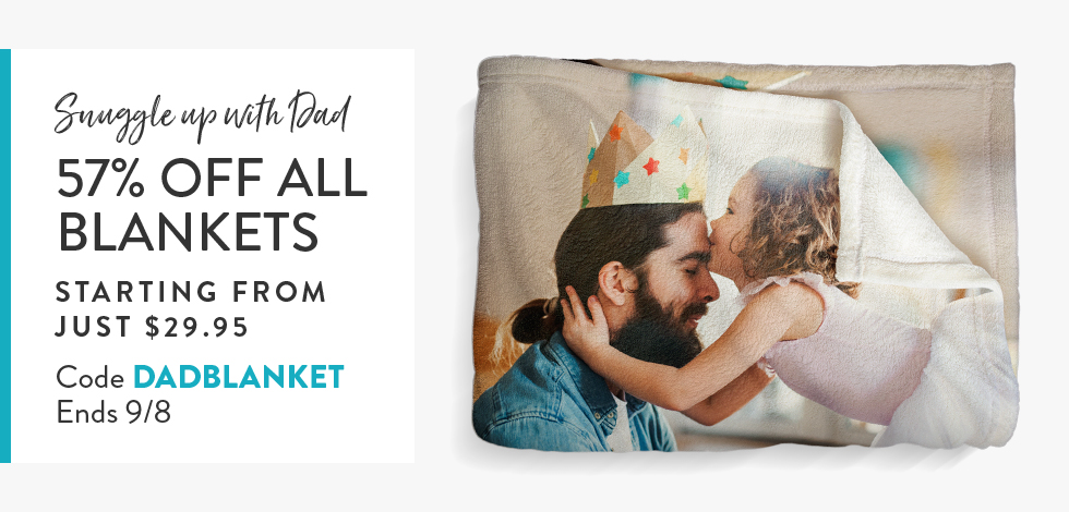 57% off all Blankets