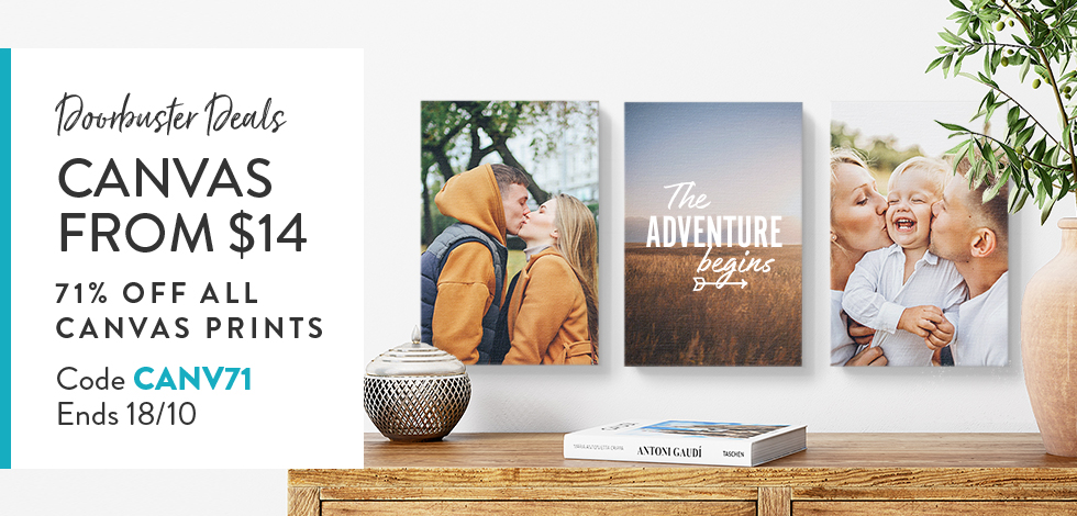 71% off all Canvas