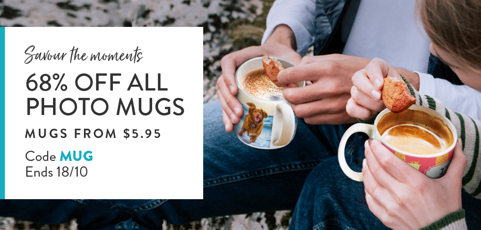 68% off all Mugs