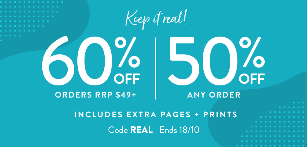 60% off orders $49+ | 50% off any order