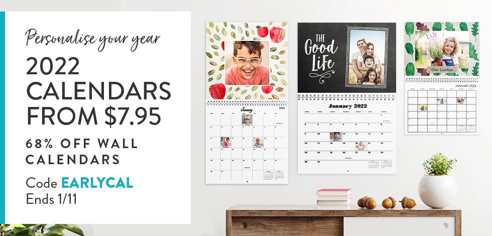 68% off Wall Calendars