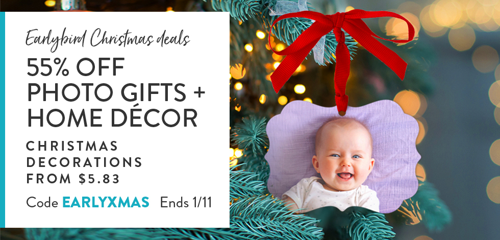 55% off all Gifts & Home Decor