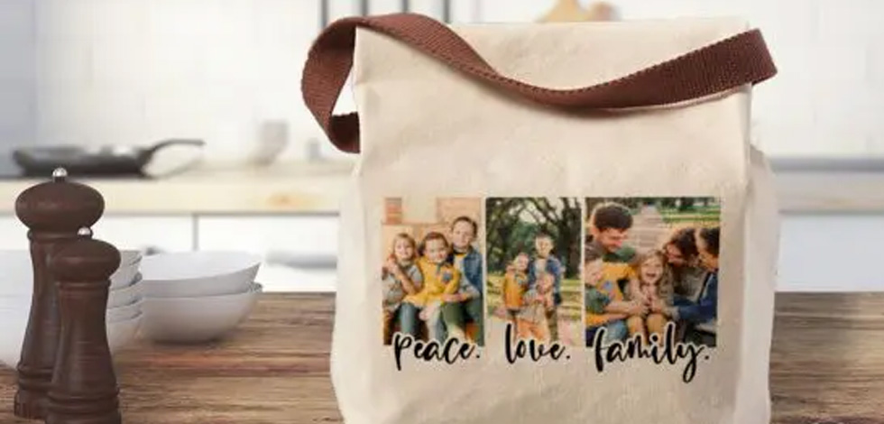 Have you heard? New custom lunch bags are here