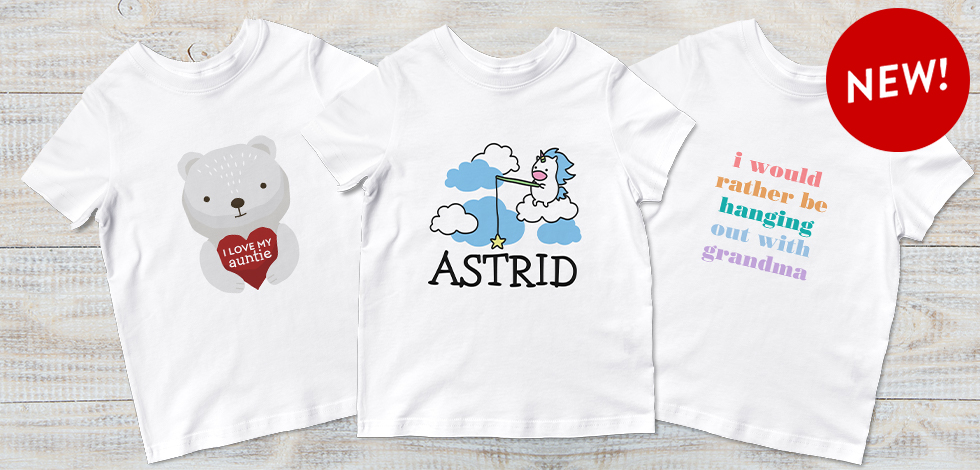 New! Toddler T-Shirts
