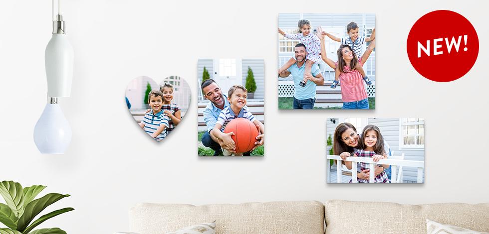 NEW! Heart-Shaped Photo Tile