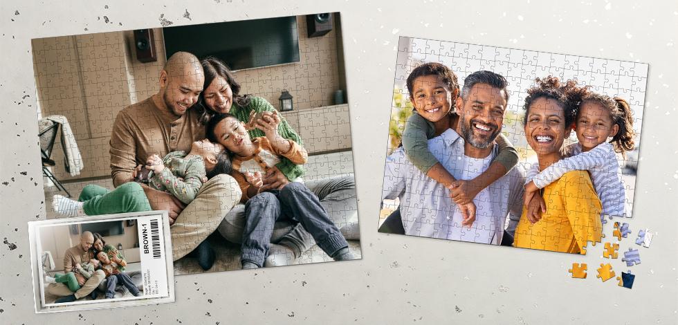 Fantastic photo puzzles