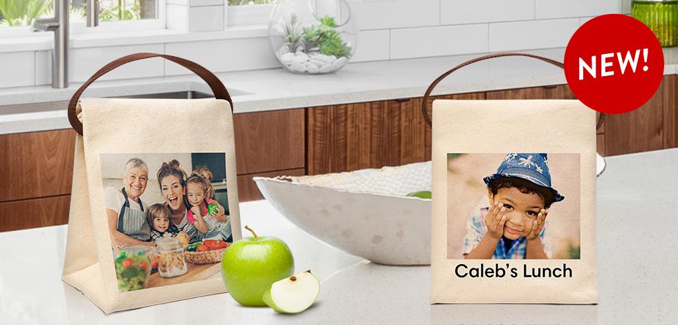 Bon Appétit! New Custom Lunch Bags