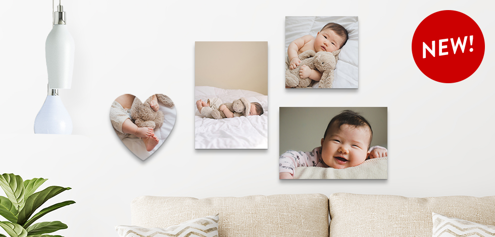 PHOTO TILES FOR BABY'S FIRST SMILES