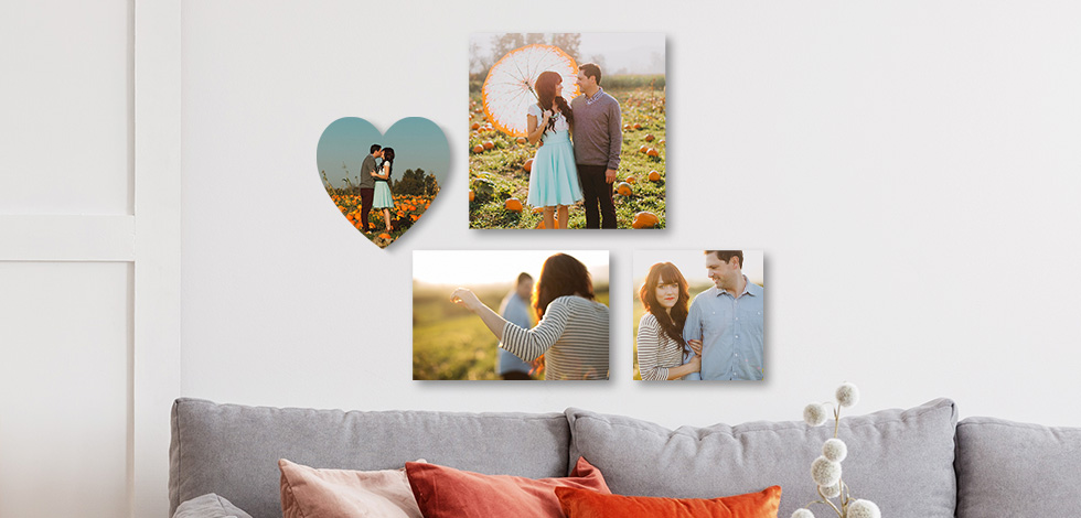 NEW! 12x12, 8x12, and Heart-Shaped Photo Tiles