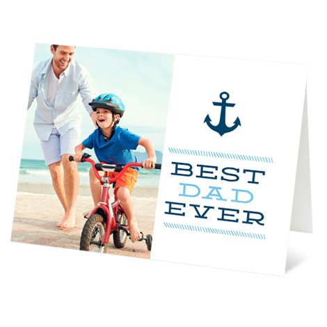 """Anchor"" Design Father's Day Card"