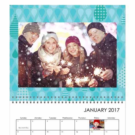"""Premium 14x11"""" Calendar"""