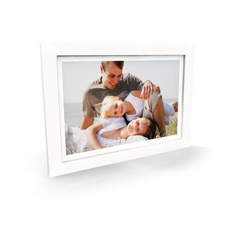 White Premium Framed Print - £69.99