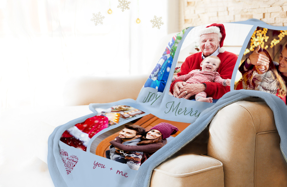 Personalised Photo Blankets - From Just £59.99