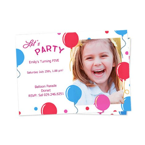 Personalised Invitations