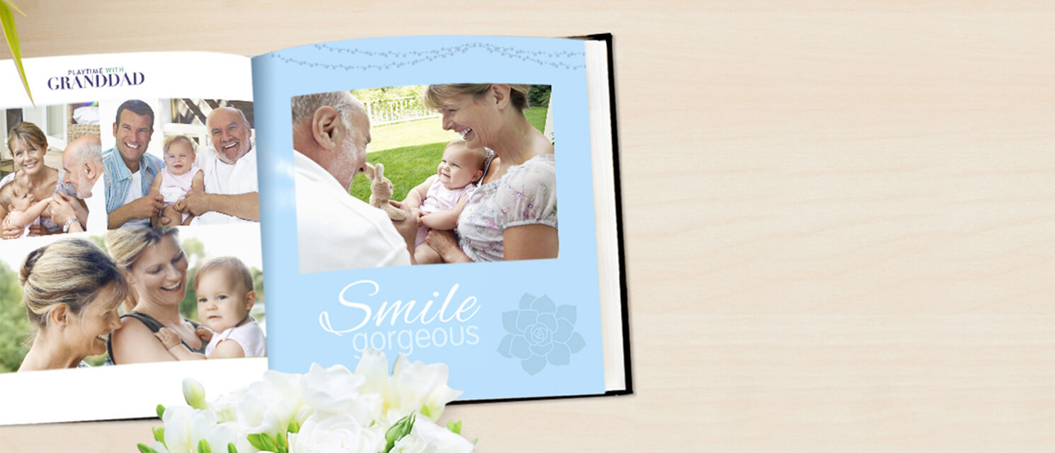 40% off and Free Delivery : Save on a picture perfect Photo Book with code SUMMERBOOK17