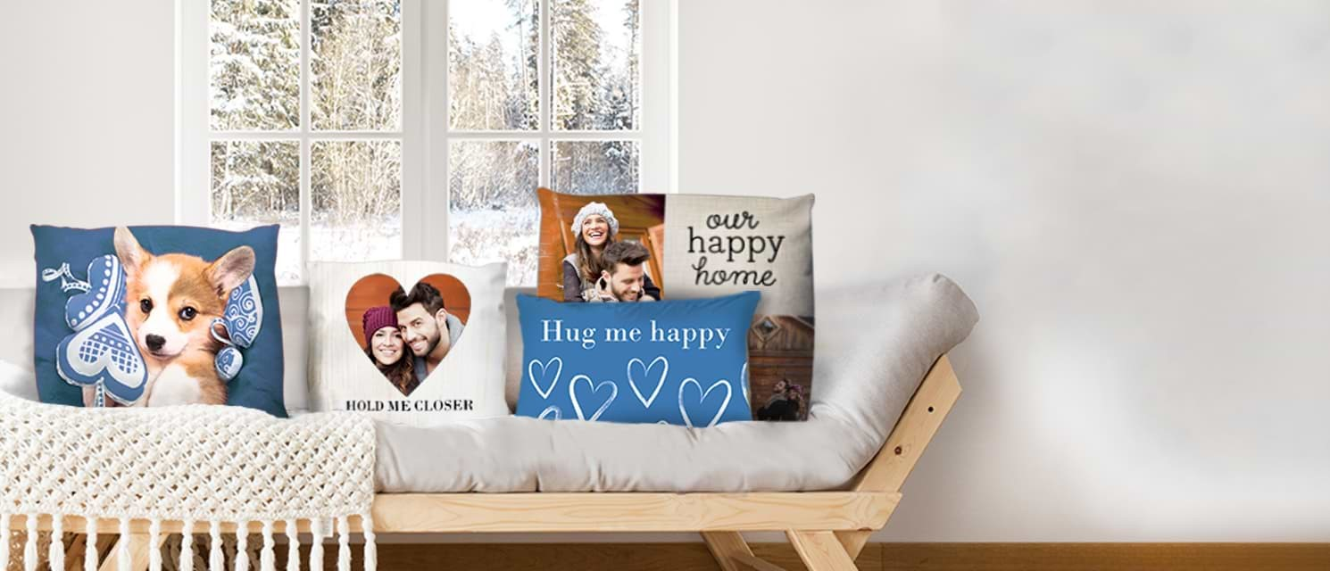 Get Cosy and Snuggle Up! : 50% off Cushions with code SNUGGLE19