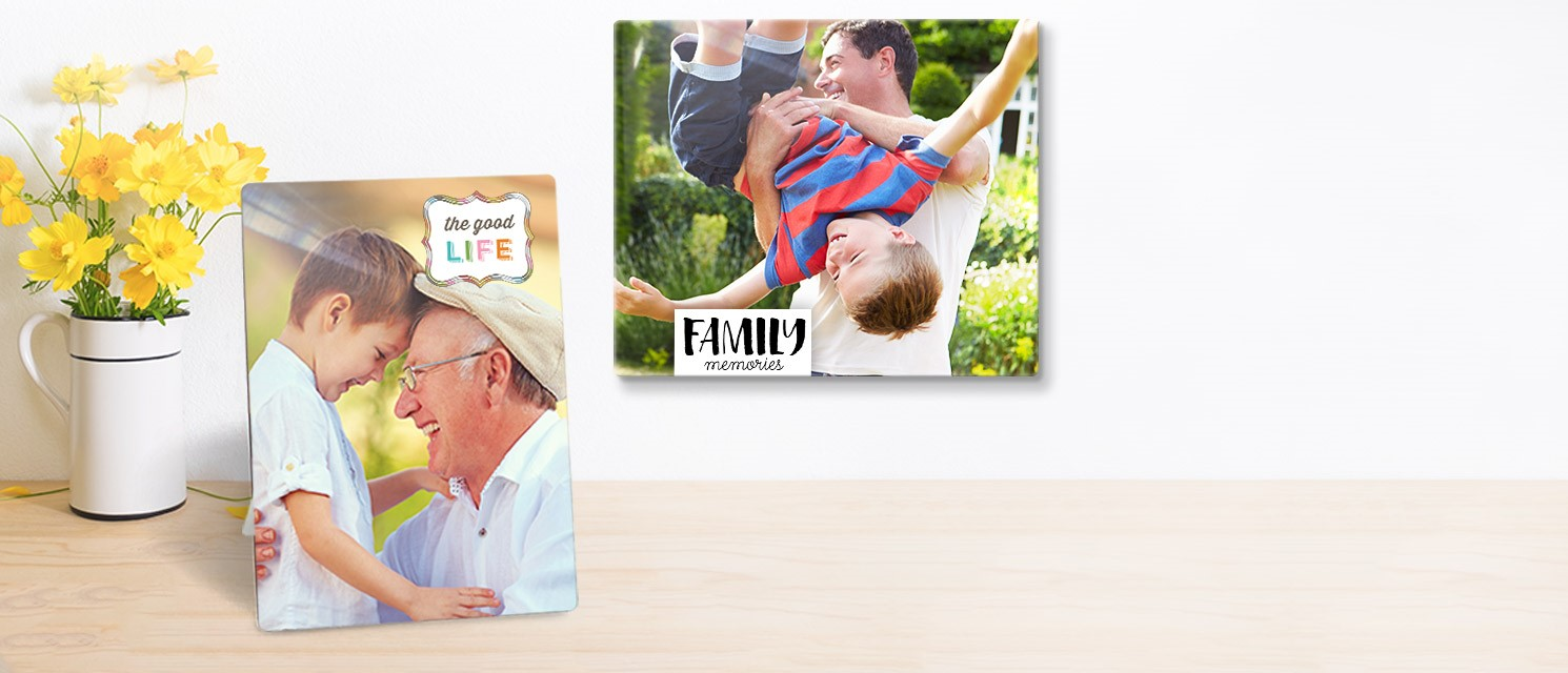 NEW Metal Photo Panels : 50% off NEW Metal Photo Panels with code METAL18