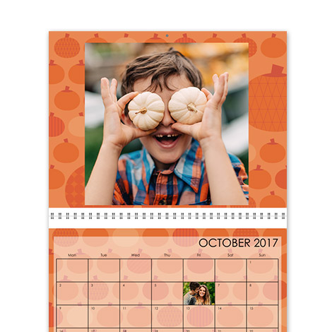 Calendar Design - Geometric Seasons