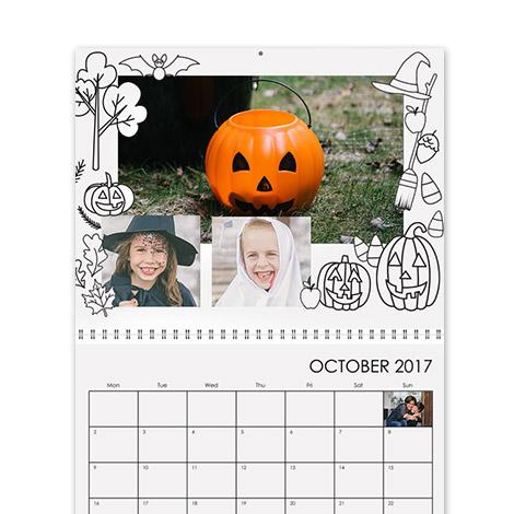 Calendar Design - Colouring Book