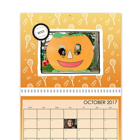 Calendar Design - Seasonal Brights