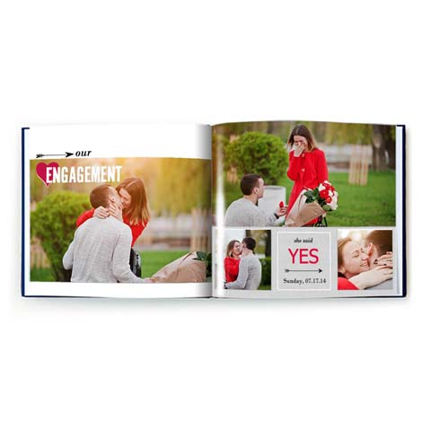 Engagement Celebration Photo Book