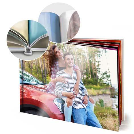 Image of 11x8 (28x20cm) Hardcover Photo Book