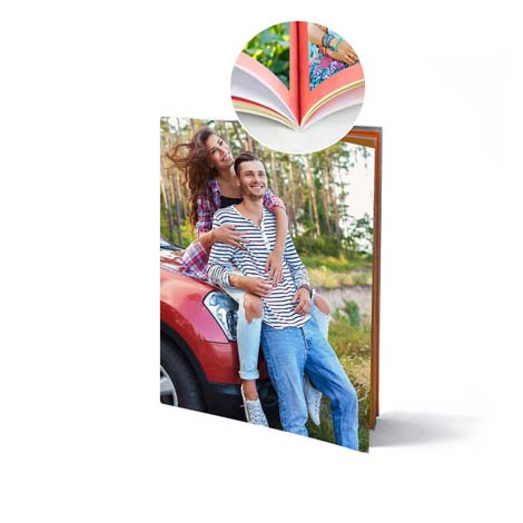 Image of 11x8 (28x20cm) Portrait Softcover Photo Book