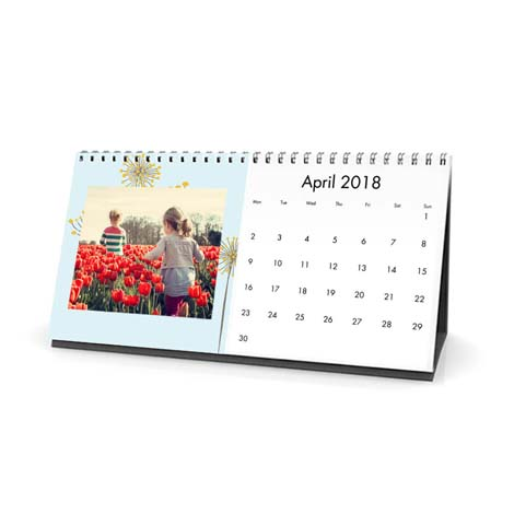 Personalised Desk Calendar From £12.99