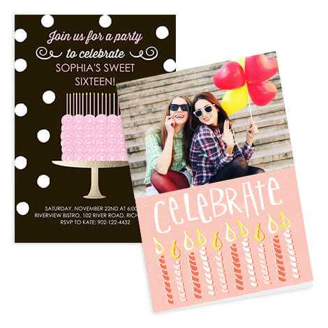 Personalised Photo Cards Invitations