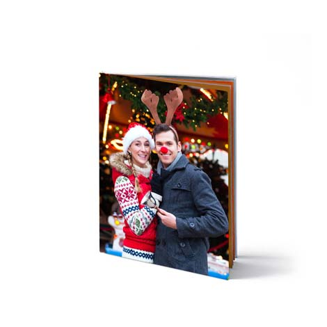 "8x11"" (20x28cm) Portrait Photo Book - From £17.99"