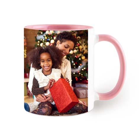 Coloured Coffee Photo Mug 11oz (330ml) £10.99