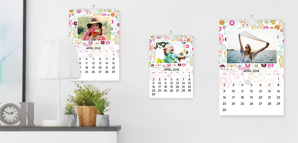 Standard Photo Calendars From £12.99
