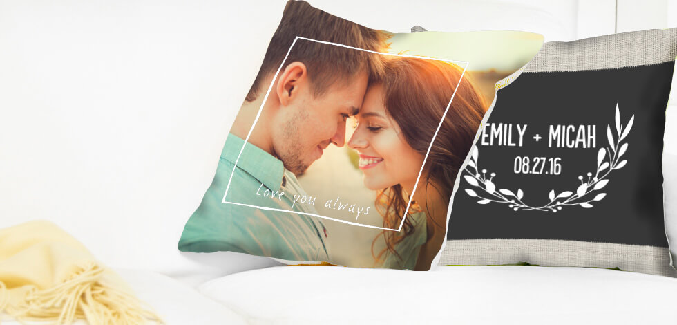 Personalised Photo Cushions From £17.99