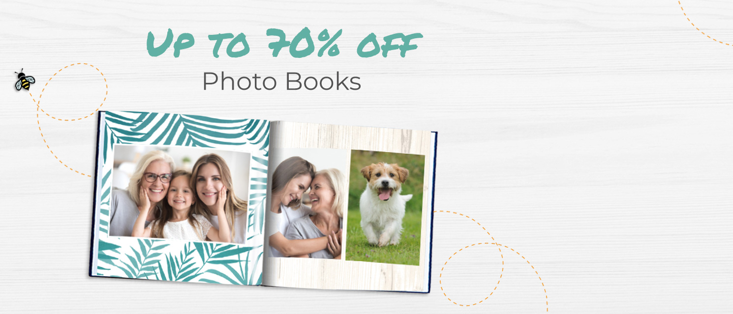 Blooming Marvellous! : Up to 70% off Photo Books with code BLOOMBOOK19