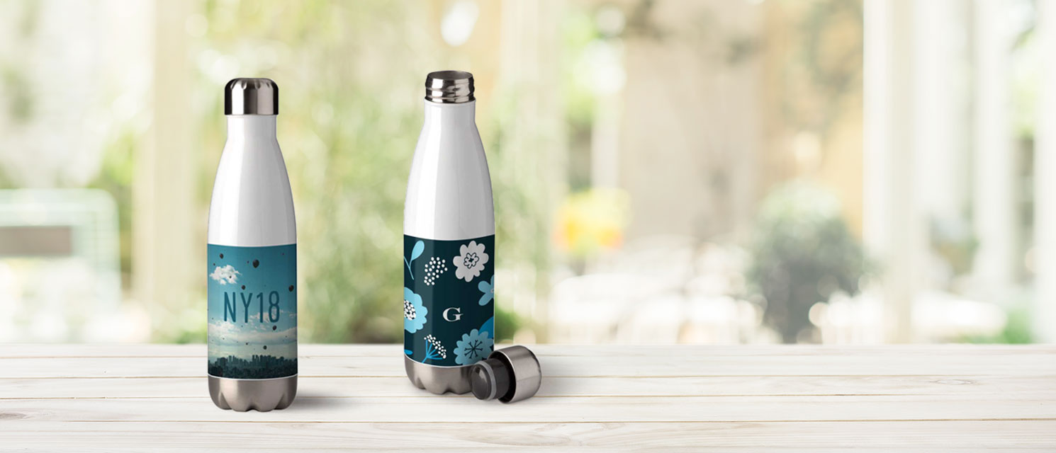Swap Your Plastic Bottle : 50% off Personalised Water Bottles - Code: 50WATER18