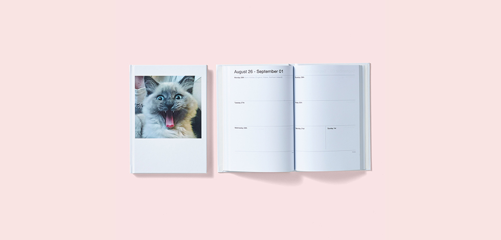 Personalised 2019 Diary - just £16.99